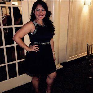 Love reign black dress. Size 9 (Juniors)